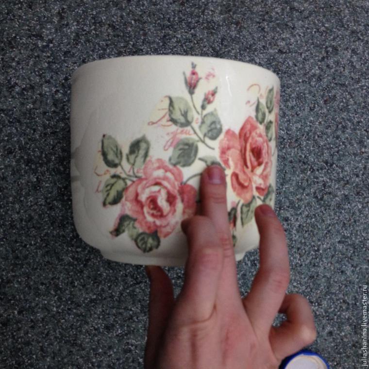 Как отреставрировать глиняный горшок своими руками