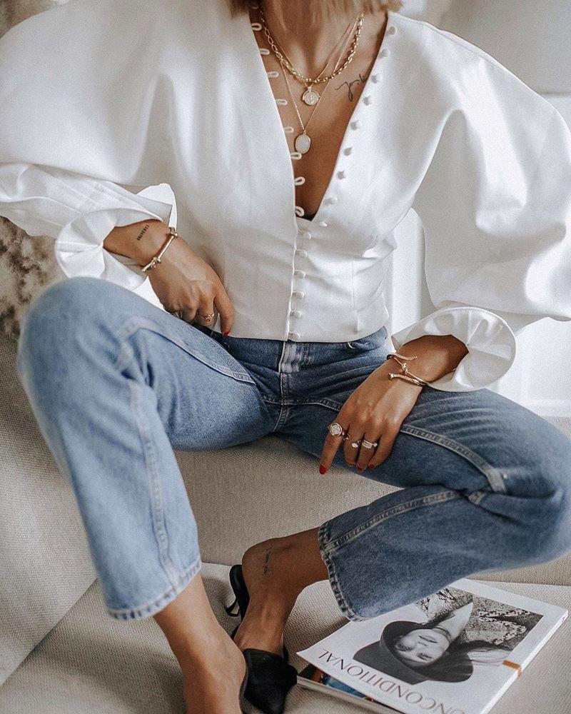 Женские блузы: не требуют особых требований в носке
