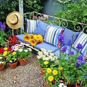 Новые идеи оформления сада