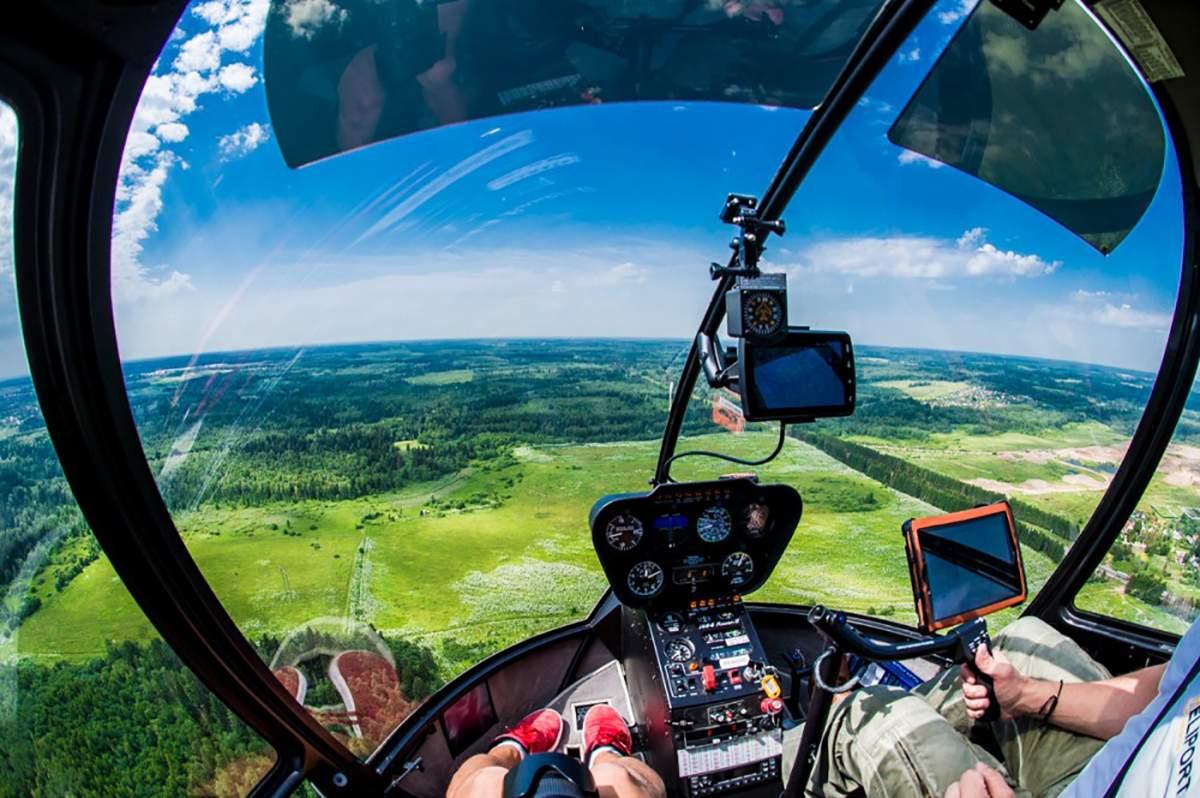 Сколько стоит полет на вертолёте?