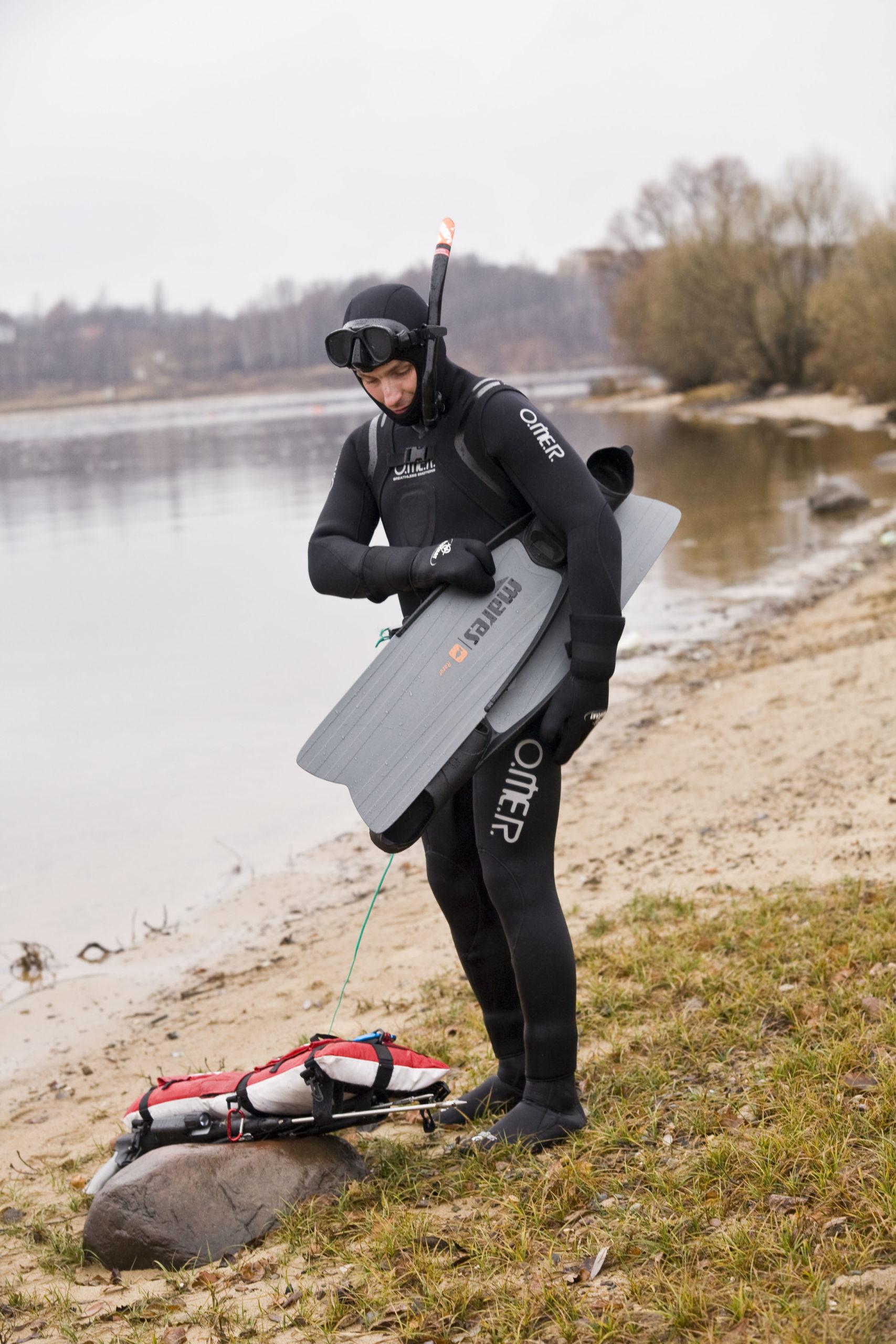 Гидрокостюм: необходимое снаряжение для подводной охоты