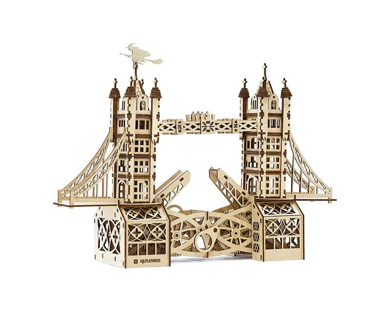 Преимущества деревянных 3D конструкторов