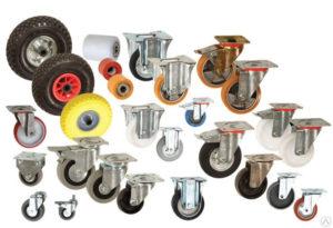 Как выбрать колеса для складской техники ?