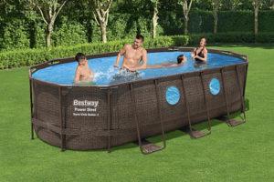 Достоинствами каркасных бассейнов Bestway
