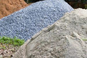 Виды сыпучих строительных материалов