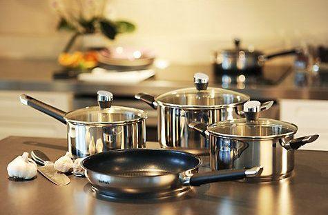 Посуда из нержавеющей стали: главные достоинства